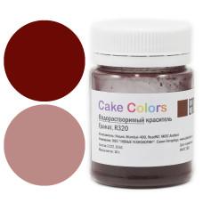 """Водорастворимый краситель Cake Colors """"Гранат"""", R310"""