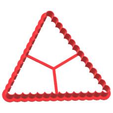 Вырубка №38 Треугольник фигурный