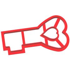 "Вырубка №52 ""Ключ-сердце"""