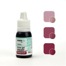 """Prime-gel 11 Краситель пищевой гелевый """"Kreda Bio Prime-gel"""", Бордовый (10 мл)"""