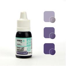 """Prime-gel 13 Краситель пищевой гелевый """"Kreda Bio Prime-gel"""", Фиолетовый (10 мл)"""