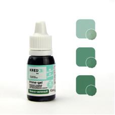 """Prime-gel 16 Краситель пищевой гелевый """"Kreda Bio Prime-gel"""", Тёмно-зелёный (10 мл)"""