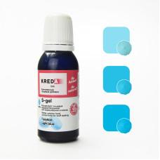 """S-gel 32 Краситель пищевой гелевый """"Kreda Bio S-gel"""", Голубой (20 мл)"""