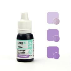 """Prime-gel 12 Краситель пищевой гелевый """"Kreda Bio Prime-gel"""", Сиреневый (10 мл)"""