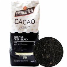 """Какао-порошок алкализованный, Barry Callebaut """"Deep Black"""", 100 гр"""